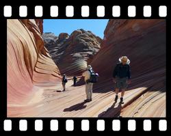 the wave paria canyon