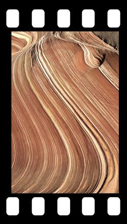 wavey sandstone
