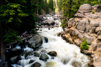 Tower Falls Creek, Yellowstone NP, WY