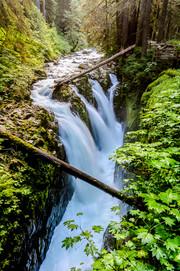 Falls at Sol Duc, Olympic NP, WA