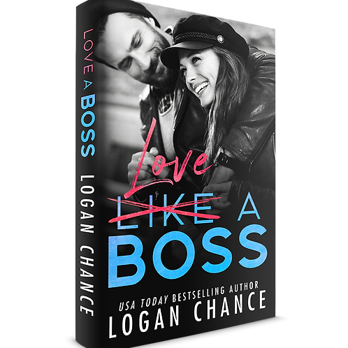 Signed Paperback of LOVE A BOSS