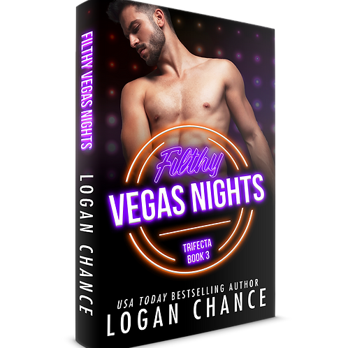Filthy Vegas Nights Signed Paperback