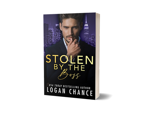 SIGNED PAPERBACK OF STOLEN BY THE BOSS