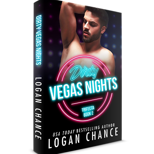 Signed Paperback of Dirty Vegas Nights