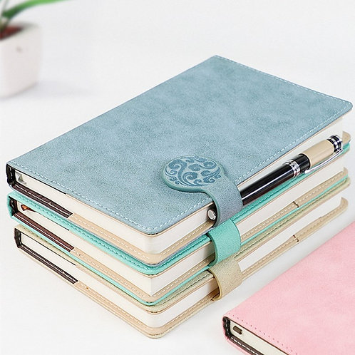 A5 Journal Notebook Leather Notebooks A6 B5  Work Notebook Diary Stationery