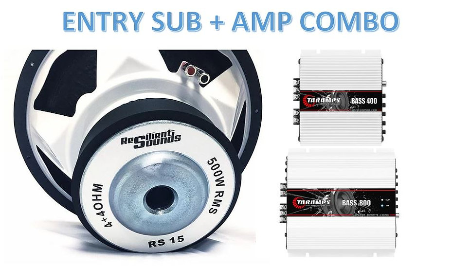 ENTRY SUB AMP COMBO