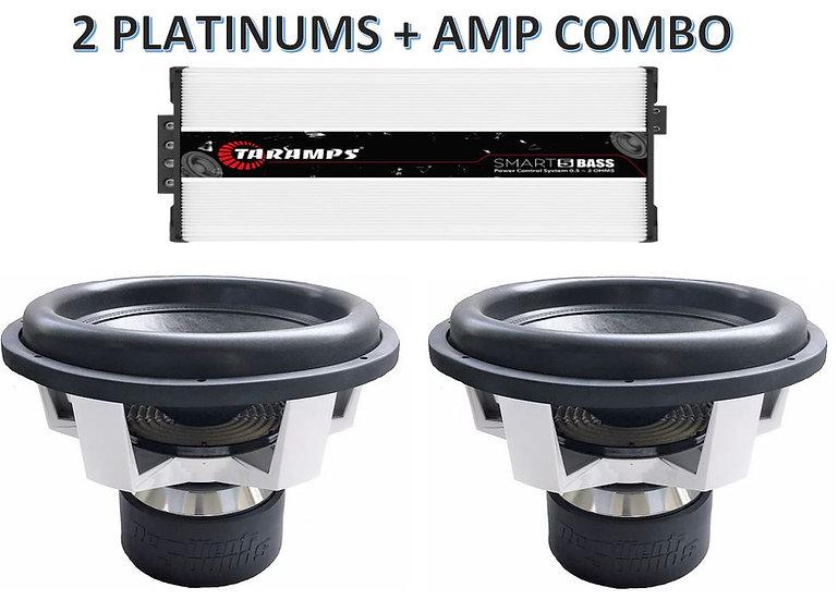 2 PLATINUMS+ BIG AMP COMBO
