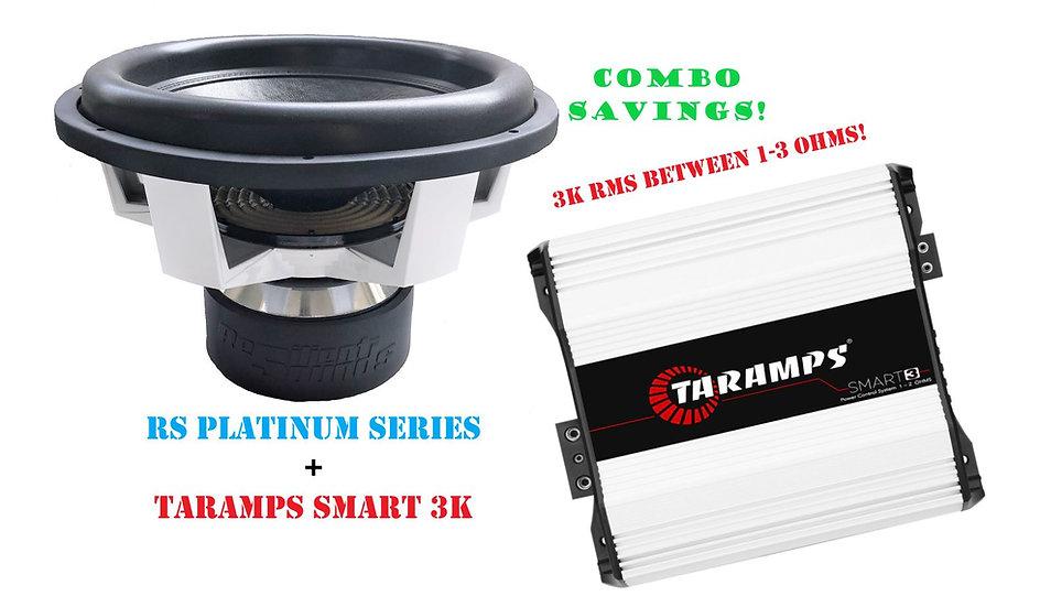 PLATINUM SUB+3K AMP COMBO