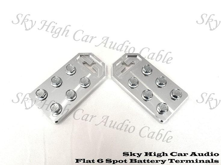 SKY HIGH CAR AUDIO 6 FLAT BATTERY TERMINAL