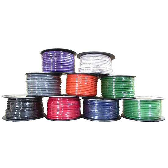 SKY HIGH CAR AUDIO 8 GAUGE POWER WIRE 150FT SPOOL