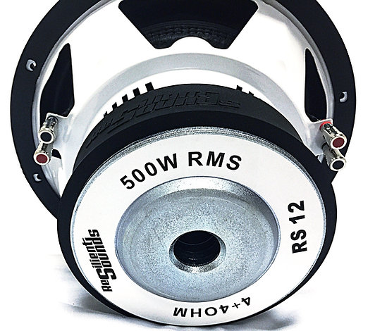 RS 12 500 RMS Entry Woofer