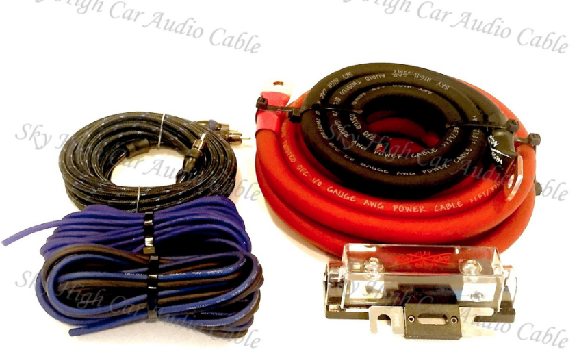 SKY HIGH CAR AUDIO 1/0 AMP KIT