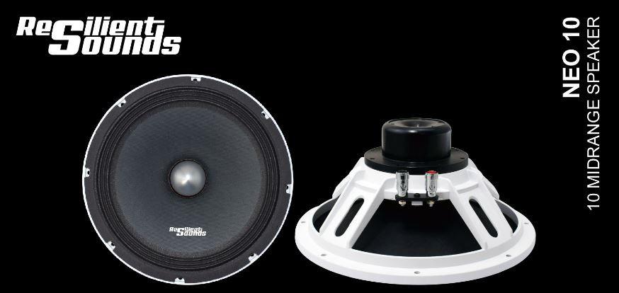 "Neodymium 10"" Midrange Pro speaker"