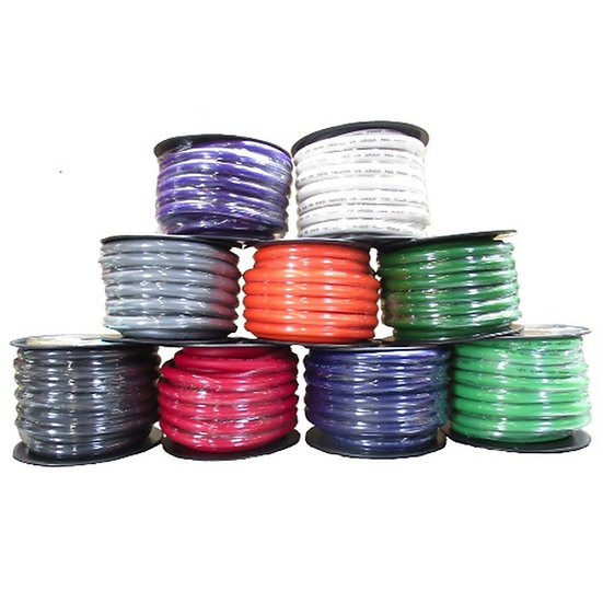 SKY HIGH CAR AUDIO 4 GAUGE POWER WIRE 100FT SPOOL