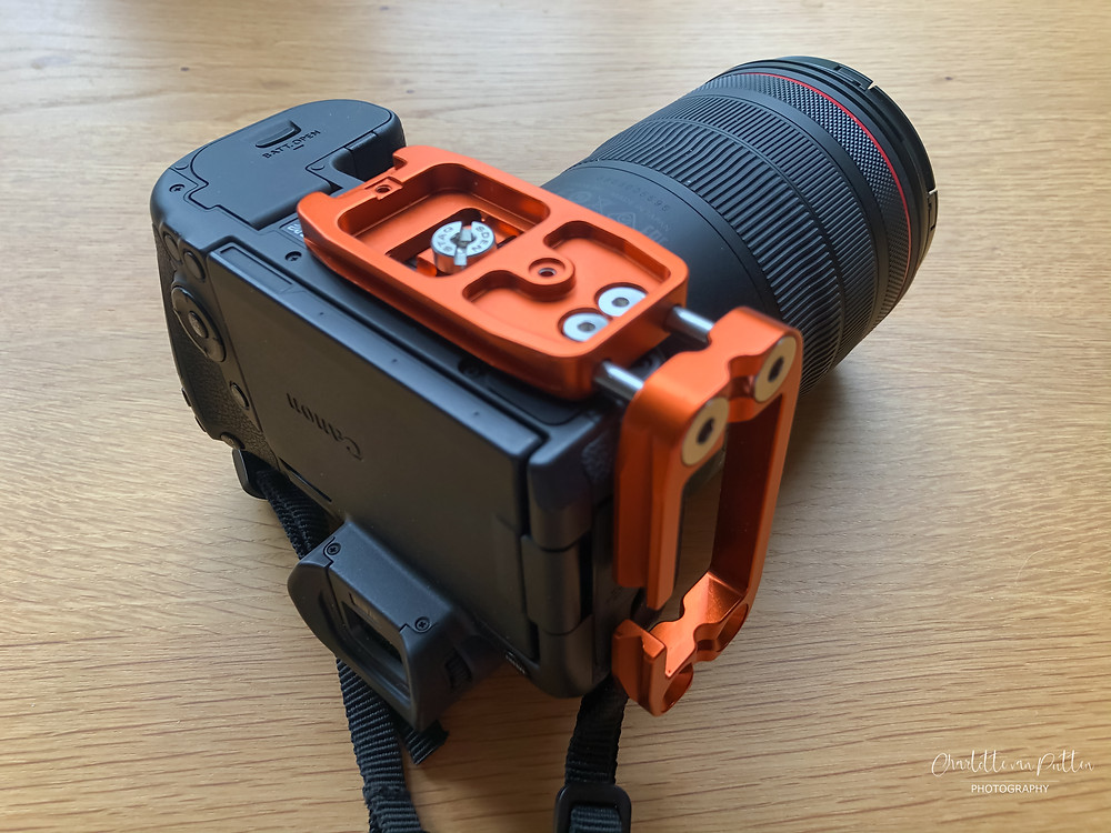 Camera L plate