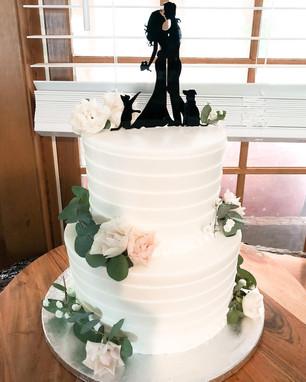Textured BC Cake