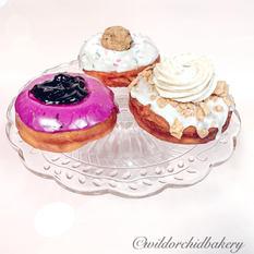 Blueberry Glaze, Funfetti Cookie Dough, Cinnamon Toast Crunch