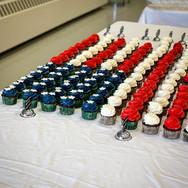 Military Retirement Cupcakes
