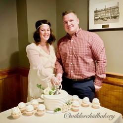 Wedding Cutting of Cake