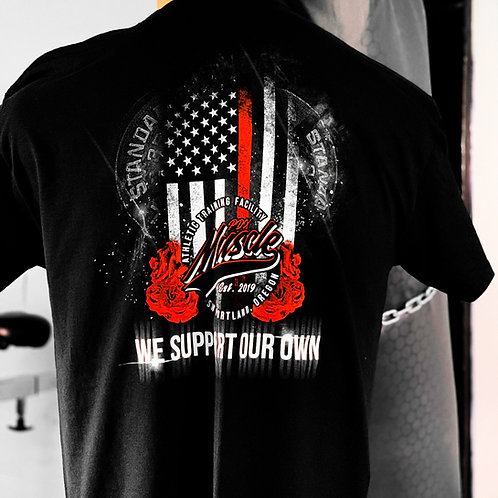 "PDX Muscle Tee ""We Support Our Own"""
