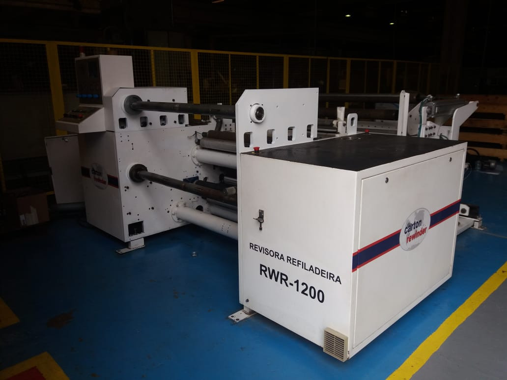 rebobinadeira revisora carton 1200