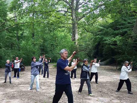 Stage d'épée à Roquefort les Pins