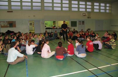 2006 Lycée Laure Gatet Groupe option tai