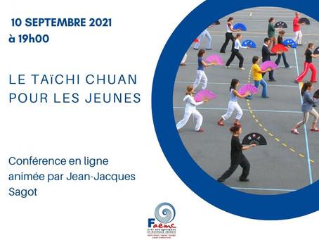 Conférence : le Taichi Chuan pour les jeunes