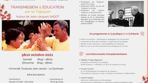 Transmission et éducation par le Taijiquan, autour de JJ Sagot