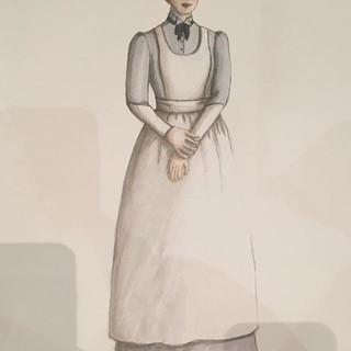 Costume rendering by Brandi Mans.