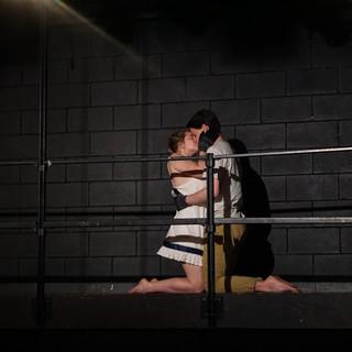 Perdita (Ellen Roubik) and Florizel (Nick Chiaverini).