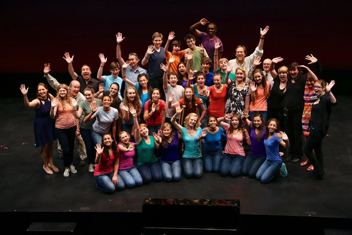 The company of Geva Theatre Center's 2013 Summer Academy