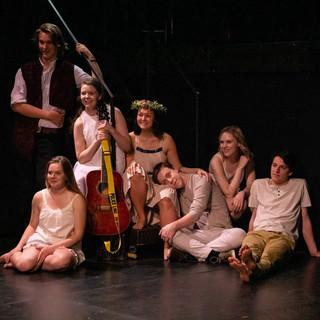 The ensemble in Bohemia.