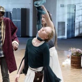 The death of Cordelia.