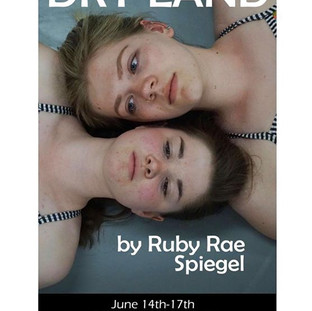 Official poster, featuring actors Reba Landers and Kate Plasterer. Image by Noelle Kirscht.