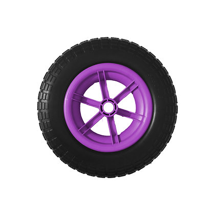 """14"""" Purple Spoked Puncture Proof (3.50 - 8)"""