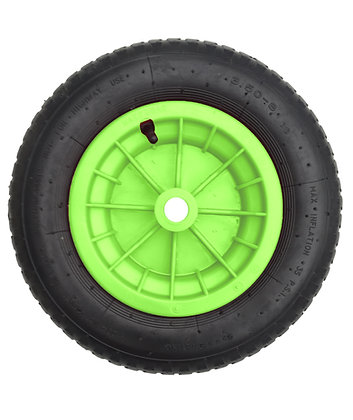 """14"""" Lime Pneumatic (3.50 - 8)"""