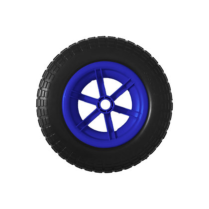 "14"" Blue Spoked Puncture Proof (3.50 - 8)"