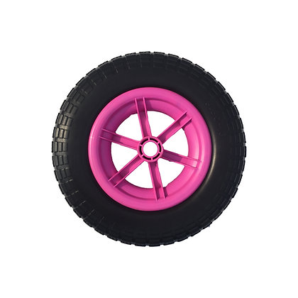 "14"" Pink Spoked Puncture Proof (3.50 - 8)"