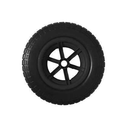 "14"" Black Spoked Puncture Proof (3.50 - 8)"