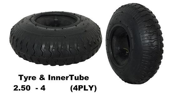 """Tyre & Innertube 2.80/2.50-4 (8"""")"""
