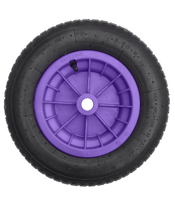 "14"" Purple Pneumatic (3.50 - 8)"