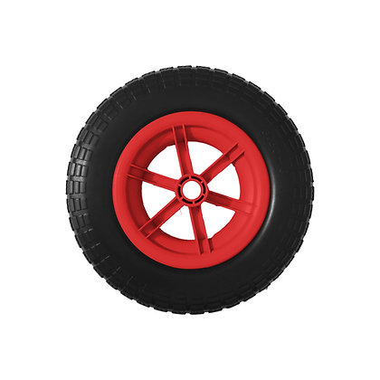 "14"" Red Spoked Puncture Proof (3.50 - 8)"