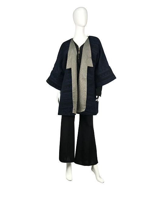 Kimono corto reversible
