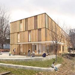 Nabe architecture, Marktredwitz, Kinderhaus, Kindergarten,Geinzer Lopez Arahuetes, Berlin, Wettbewerb, 3. Preis