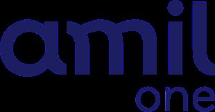 Logotipo Amil One - Plano de Saúde Premium para Pequenas Empresas com Einstein e Sírio - Miami Saúde