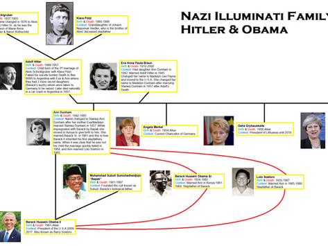 The Illuminati Nazi World Order (NWO): Obama Is Hitler's Biological Grandson, A Khazar Rothschild