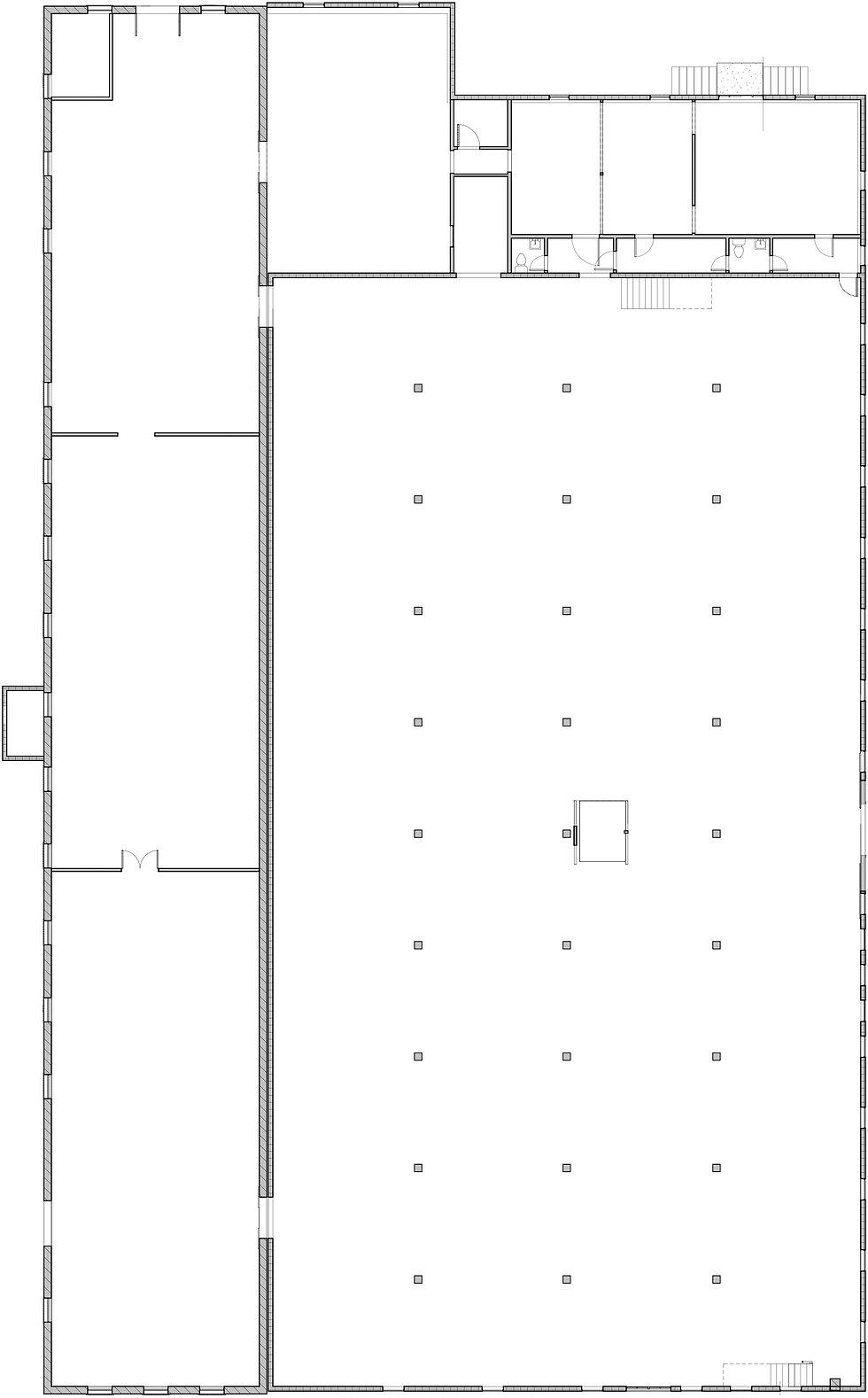 Pritchard-Hughes Warehouse - As-Builts -
