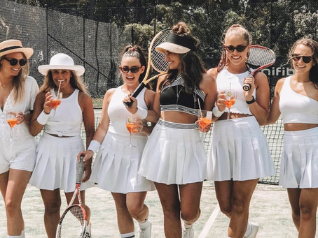 Tamara's Wimbledon Whites Hen's