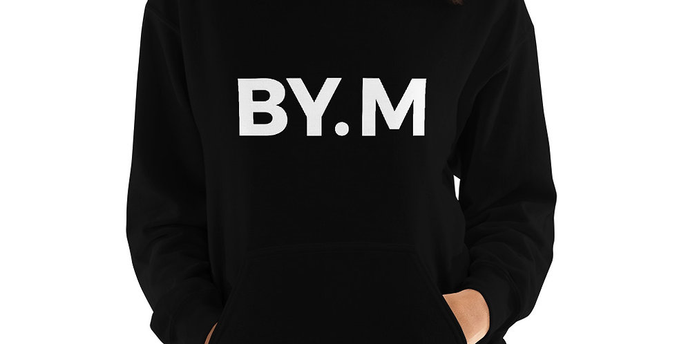 Black hoodie BY.M